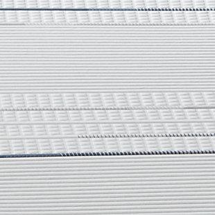 iComfort Foam CF4000 Plush Twin XL Mattress, White/Gray, large