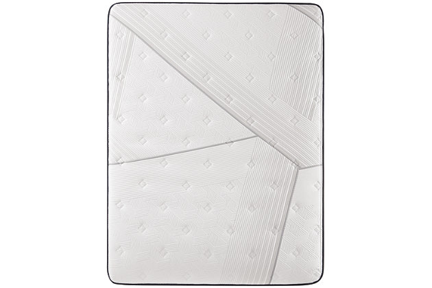 iComfort CF1000 Quilted II Hybrid Firm California King Mattress, White/Blue, large