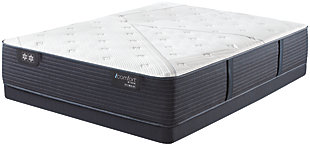 iComfort CF2000 Quilted II Hybrid Plush Queen Mattress, White/Blue, large