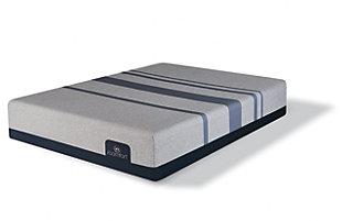 iComfort Foam Blue Max 1000 Cushion Firm Memory Foam Twin XL Mattress, Gray/Blue, large