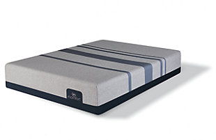 iComfort Foam Blue Max 1000 Cushion Firm Memory Foam Queen Mattress, Gray/Blue, large