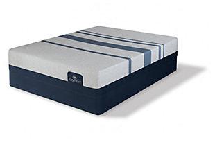 iComfort BLUE 300 Full Mattress, Gray, large