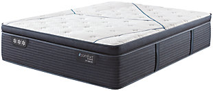 iComfort CF4000 Quilted Hybrid Medium PillowTop Queen Mattress, White/Blue, large