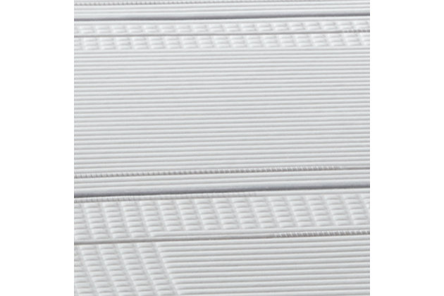 iComfort Foam CF1000 Medium Twin Mattress, White/Gray, large