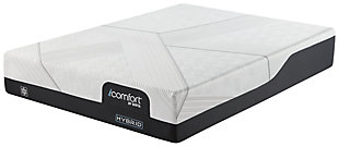 CF1000 Hybrid Medium Twin Mattress, White, rollover