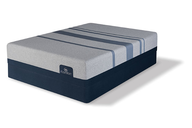 iComfort BLUE MAX 3000 Twin XL Mattress, Gray/Blue, large