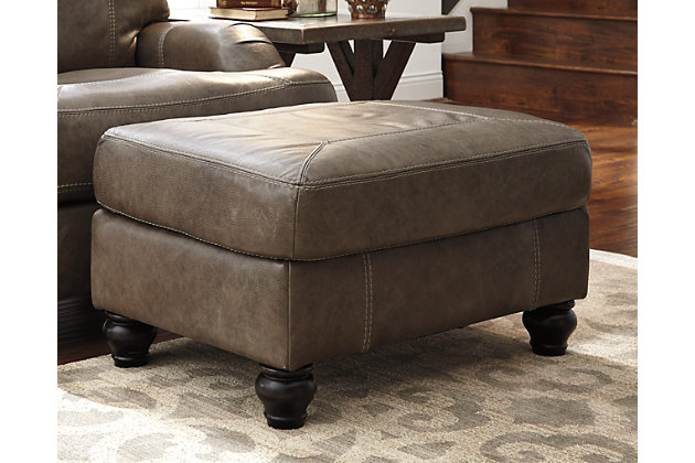 Kannerdy Ottoman by Ashley HomeStore, Brown