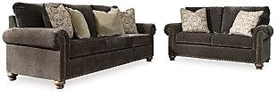 Stracelen Sofa and Loveseat, , large
