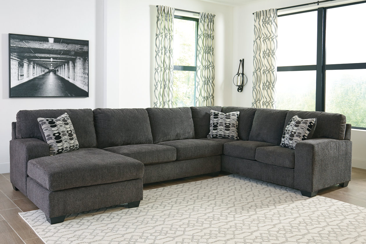 Ballinasloe 3-Piece Sectional with Chaise | Ashley Furniture ...