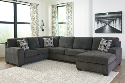 Ballinasloe 3 Piece Sectional With Chaise Ashley Furniture Homestore