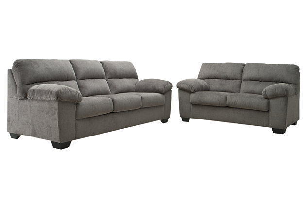 Toland Sofa and Loveseat, , large
