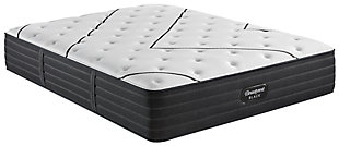 Beautyrest Black L-CLASS Extra Plush Full Mattress, Black/White, large