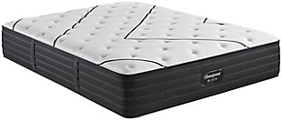 Beautyrest Black L-CLASS Extra Plush Twin XL Mattress, Black/White, large
