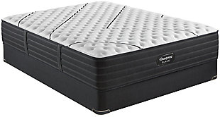 Beautyrest Black L-CLASS Extra Firm Twin XL Mattress, Black/White, rollover