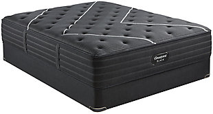 Beautyrest Black C-CLASS Medium Queen Mattress, Black, rollover