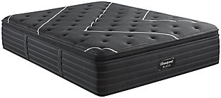 Beautyrest Black C-CLASS Pillow Top Queen Mattress, Black, large