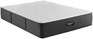 Beautyrest Silver Hybrid BRX1000-C Plush Twin Mattress, White/Navy, large