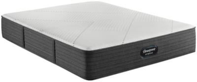 Beautyrest Hybrid BRX1000-IP Plush Twin Mattress, White/Navy, large