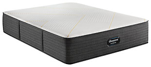 Beautyrest Silver Hybrid BRX3000-IM Ultra Plush Twin Mattress, White/Navy, large