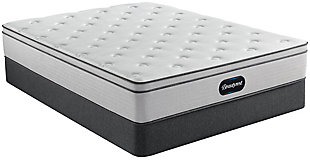 Beautyrest Ellsworth PT Medium Queen Mattress, Gray/White, rollover