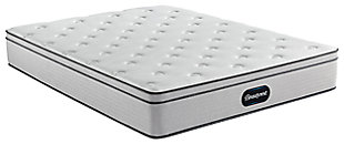 Beautyrest Ellsworth PT Medium Queen Mattress, Gray/White, large