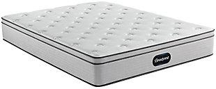 Beautyrest Ellsworth PT Medium Twin Mattress, Gray/White, large