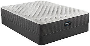 Beautyrest Silver Ferndale Extra Firm Twin Mattress, Blue/White, rollover