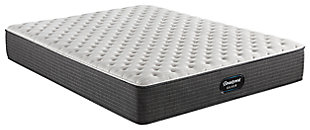Beautyrest Silver Ferndale Extra Firm Queen Mattress, Blue/White, large