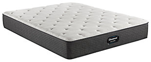 Beautyrest Silver Ferndale Plush Queen Mattress, White/Navy, large