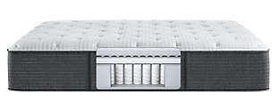 Beautyrest Silver Level 2 Greystone Medium King Mattress, White/Navy, large