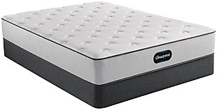 Beautyrest Dresden Plush Twin Mattress, Gray/White, rollover