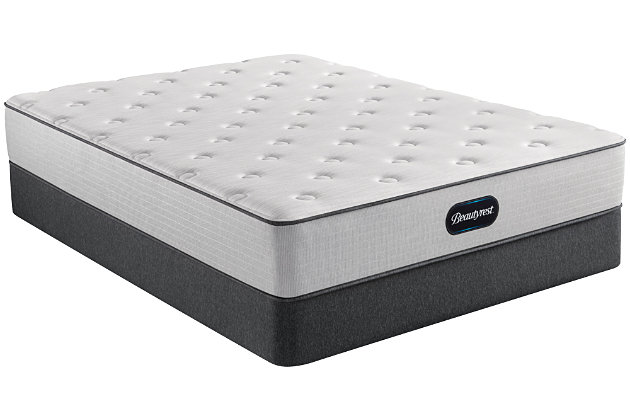 Beautyrest Dresden Plush King Mattress, Gray/White, large
