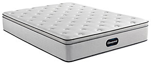 Beautyrest Dresden ET Plush Twin Mattress, Gray/White, large