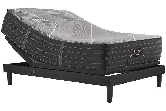 Beautyrest Black Hybrid X-Class Firm King Mattress, Gray, large