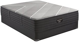 Beautyrest Black Hybrid X-Class Ultra Plush Twin XL Mattress, Gray, rollover