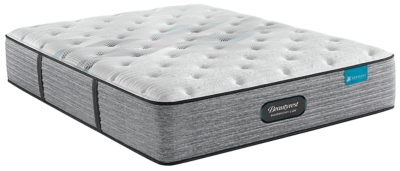 Beautyrest®Harmony Lux Carbon Series Plush Twin Mattress, White, large