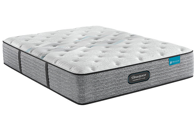 Beautyrest® Harmony Lux Carbon Series Plush Twin Mattress, White, large