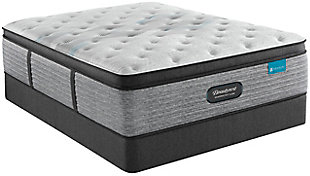 Beautyrest® Harmony Lux Carbon Series Medium Pillow Top Twin Mattress, White, large
