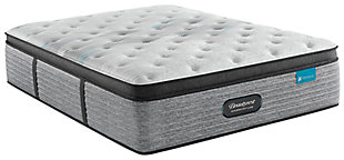 Beautyrest® Harmony Lux Carbon Series Plush Twin Mattress, White, rollover