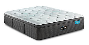 Beautyrest® Harmony Dalton Plush PT Twin Mattress, White/Gray, large