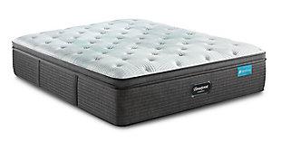 Beautyrest® Harmony Dalton Plush PT Cal King Mattress, White/Gray, large