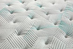 Beautyrest® Harmony Seaton Plush Twin Mattress, White/Gray, large