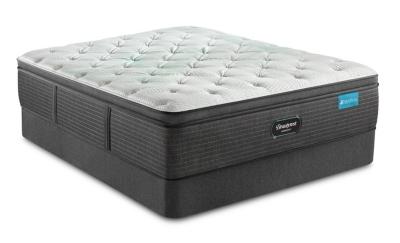 Beautyrest® Harmony Seaton Plush PT Twin Mattress, White/Gray, large