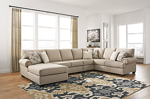 Baceno 4-Piece Sectional with Ottoman, , large