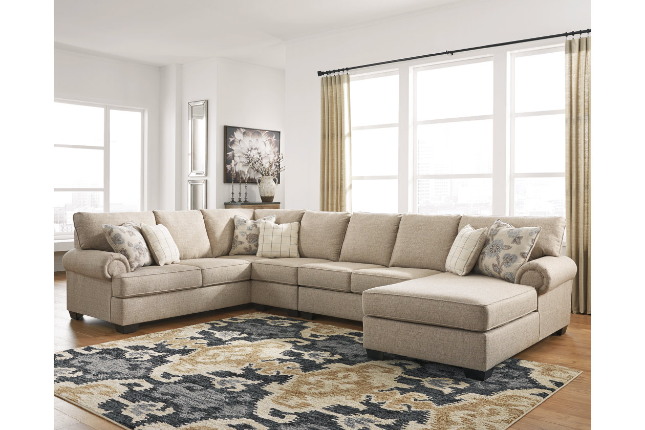 Baceno 4 Piece Sectional With Chaise