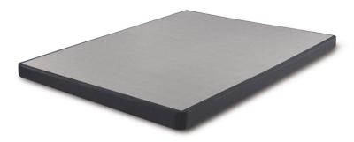 iComfort Low Profile Twin Foundation, Blue, large