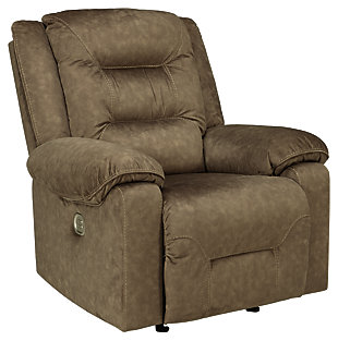 Waldheim Power Recliner, Mocha, large