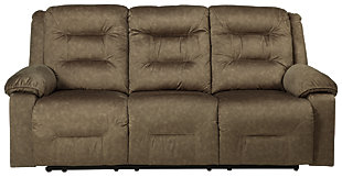 Waldheim Power Reclining Sofa, Mocha, large