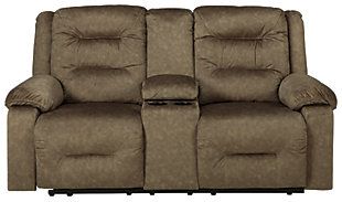 Waldheim Power Reclining Loveseat with Console, , large