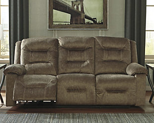Waldheim Power Reclining Sofa, Mocha, rollover
